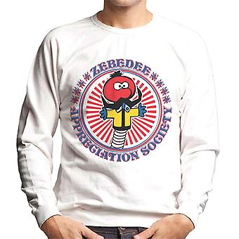 The Magic Roundabout Zebedee Appreciation Society Men's Sweatshirt