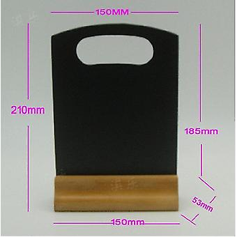 Wooden Sign Menu Holder A5 Size Double Sided 150x190mm