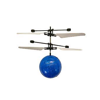 Gyermekek Kültéri kézérzékelő vezérlés Led Villogó Labda helikopter Repülőgép