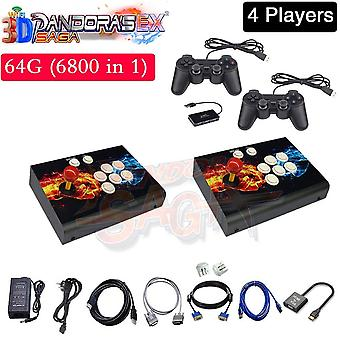 Multiplayer Joysticks Arcade Pandora Box