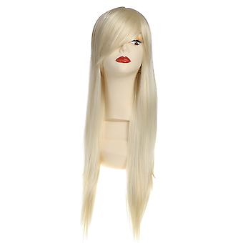 Cosplay Anime Perruque Blonde Long Straight Hair