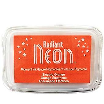 Radiant Neon Ink Pad Electric Orange