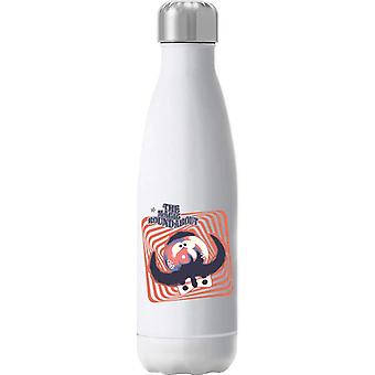 The Magic Roundabout Zebedee Psychedelic Lines Insulated Stainless Steel Water Bottle