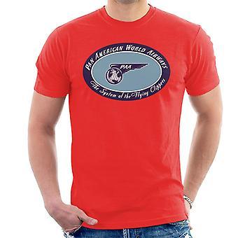 Pan Am El sistema de la camiseta de los Flying Clippers Men's