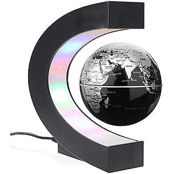 Magnetische Schweben Globus C-Form mit nachtleuchtender LED Schwebender Globus Geographie