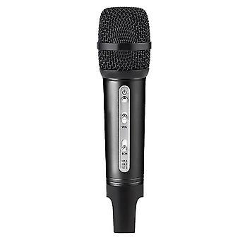 Microfoon Bluetooth draadloze microfoon (zwart)