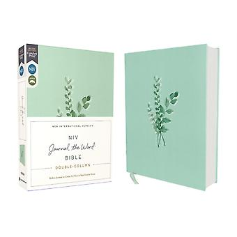 NIV Journal the Word Bible DoubleColumn Cloth over Board Teal Red Letter Comfort Print Reflect Take Notes or Create Art Next to Your Favorite Verses door Zondervan