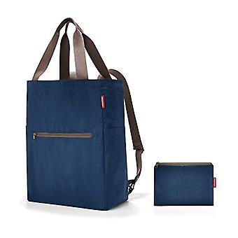 Reisenthel mini maxi 2in1 Messenger Bag, 41 cm, 19 liters, Blue (Dark Blue)