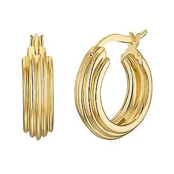 NOELANI Silver Hoop Earrings 925(10)