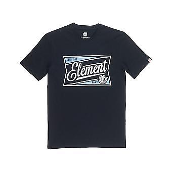 Element Wedge Short Sleeve T-Shirt in Flint Black