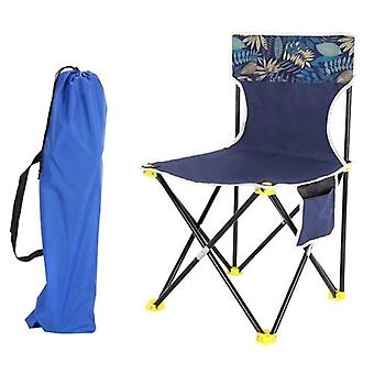 Foldable Chair with Pocket Lightweight Packable Camping Chair for Outdoor Indoor