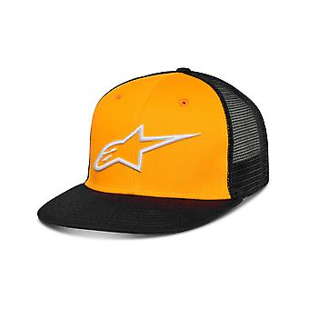 Alpinestars Corp Trucker Cap in Gold/Black