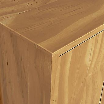 vidaXL Kleiderschrank mit 3 Türen Hill Range 127x50x170cm Kiefer