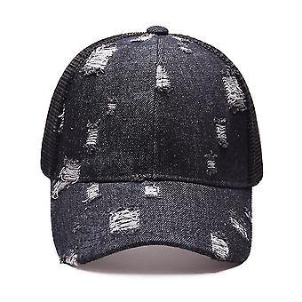 ג'ינס רשת בייסבול כובע נשימה פתיחה אחורית