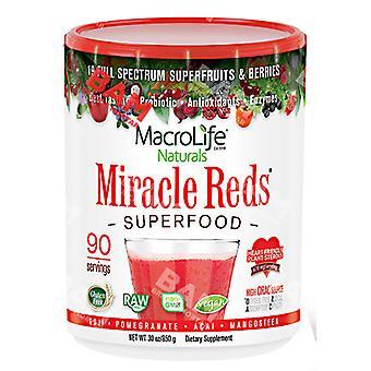 Macrolife Naturals Miracle Reds, 90 Day Supply 30 Oz