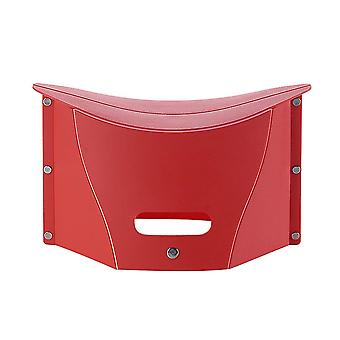 Red 13*19*30.5cm portable plastic cute folding stool homi4271