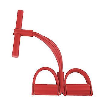 الأحمر متعدد الوظائف اللياقة البدنية اليوغا مرونة سحب الحبال العصابات az12022