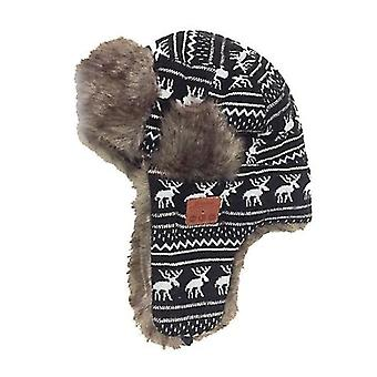 Bluetooth Winter Trapper Windproof Hat Beanie Chapéus Russos