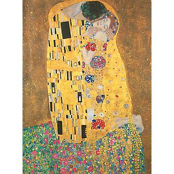 Clementonin suuri museo Suudelma, Klimt korkealaatuinen palapeli (500 kappaletta)