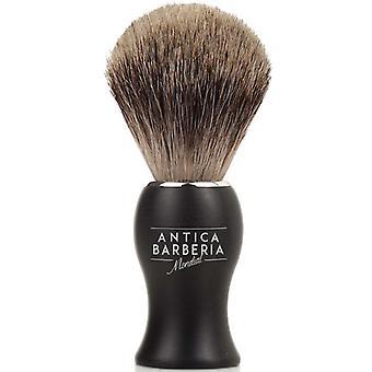 Antica Barberia bedste grævling barbering børste sort Metal