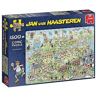 Jumbo Jan van Haasteren Highland Games Jigsaw - 1500 Piece