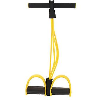 Multifunctional fitness yoga Elastic Pull Ropes Bands(Yellow)