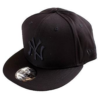 Ny æra MLB 9FIFTY New York Yankees Snapback - svart/svart