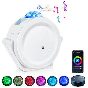 Led Galaxy Starry Night Light Projector Star Sky Party Lamp Bedroom Game Room
