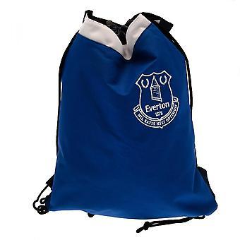 Everton FC Dragsko Ryggsäck Officiell Licensierad Produkt