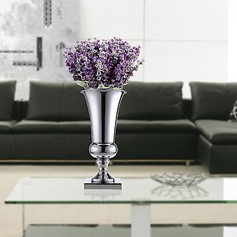 43cm suuri upea hopea rauta ylellinen kukka maljakko hääpöytä kotiin