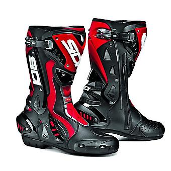 Sidi ST Mens Motorcycle Boots Black Red CE