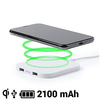 تشي شاحن لاسلكي للهواتف الذكية 2100 ماه USB 145764