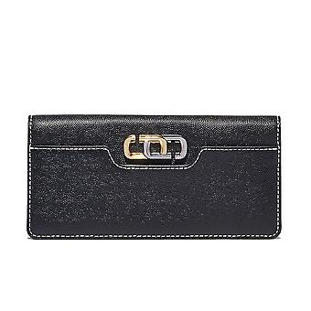Marc Jacobs Den svarte lommeboken med J Link