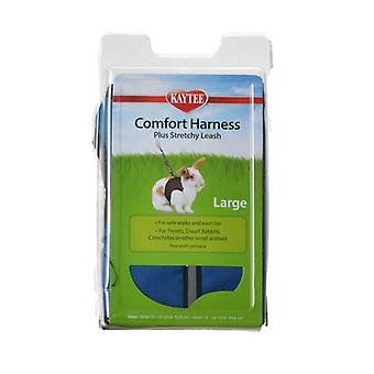"""Kaytee Comfort Harness with Safety Leash - Large (10""""-13"""" Neck & 13""""-16"""" Waist)"""