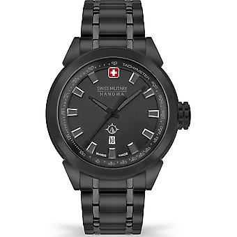 Swiss Military Hanowa - Armbanduhr - Herren - PLATOON NIGHTVISION - SMWGH2100171