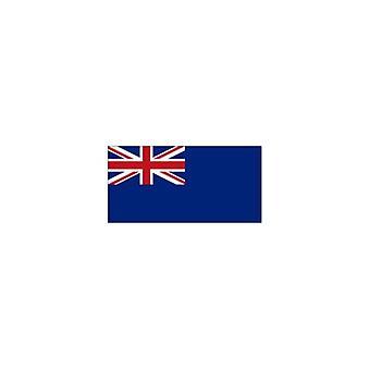 Union Jack viste bandera azul