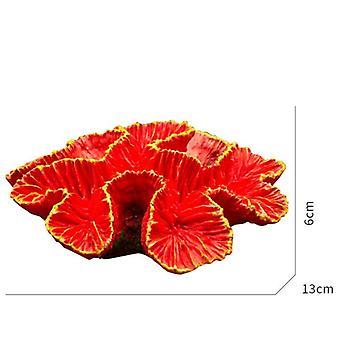 Akvarijní dekorace FishTank Terénní úpravy Umělé korálové útesy Ornamenty Rybí přístřešek Aquascape