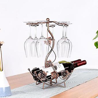 Maple Leaf Wijnrek Wijnhouder Stand Opknoping Drinken Stemware Rack Shelf Wijnfles