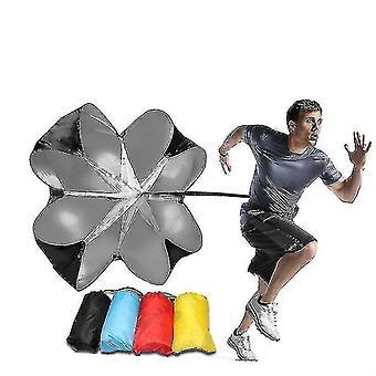 Velocità resistenza paracadute velocità resistenza paracadute velocità ombrello forza fisica allenamento resistenza atletica corsa