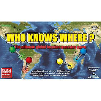 Tile games who knows where? - The global location guessing board game
