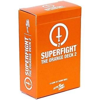 Superfight Orange Deck 2 : 100 New Nerdy Cards For The Game Of Absurd Arguments   Party Game Expansion, 3 Or More Players, Ages 11 Above