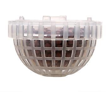 Vattengräshållare, transparent akvarieväxt landskapsarkitekturhållare flytande mossboll för akvariedekoration