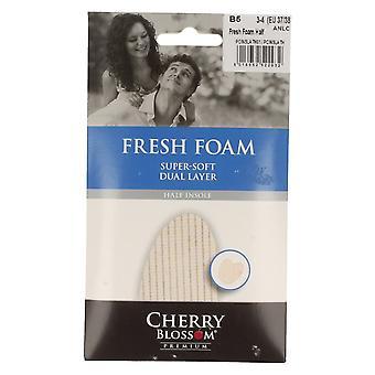 Cherry Blossom Fresh Foam Half Insole Super Soft Dual Layer