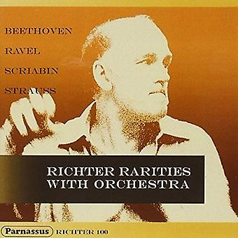 Sviatoslav Richter, Various Orchestras a - Beethoven: Ravel: Scriabin: R. Strauss: [CD] USA import