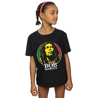 Bob Marley Girls Logo Badge T-Shirt