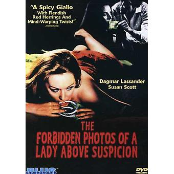 Forbidden Photos of a Lady Above Suspicion [DVD] USA import