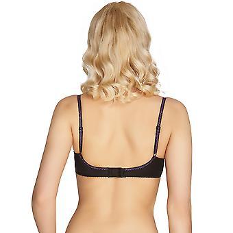 Mio Classic Florance Black Lace Balcony Bra H05-14-L