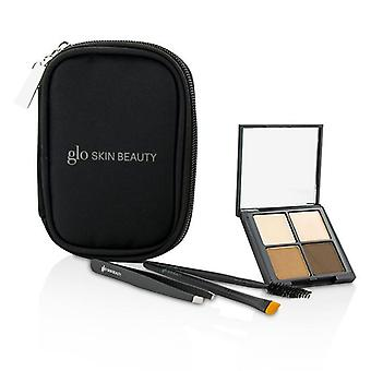 Glo Skin Beauty Brow Collection-# Brown--