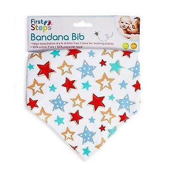 Eerste stappen Bandana Bib 0 +