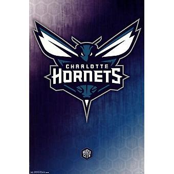 Charlotte Hornets - Logo 2014 Poster Poster Print
